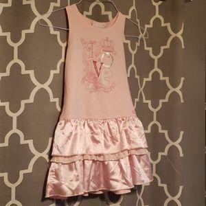 American Girl Pink Princess Love Dress